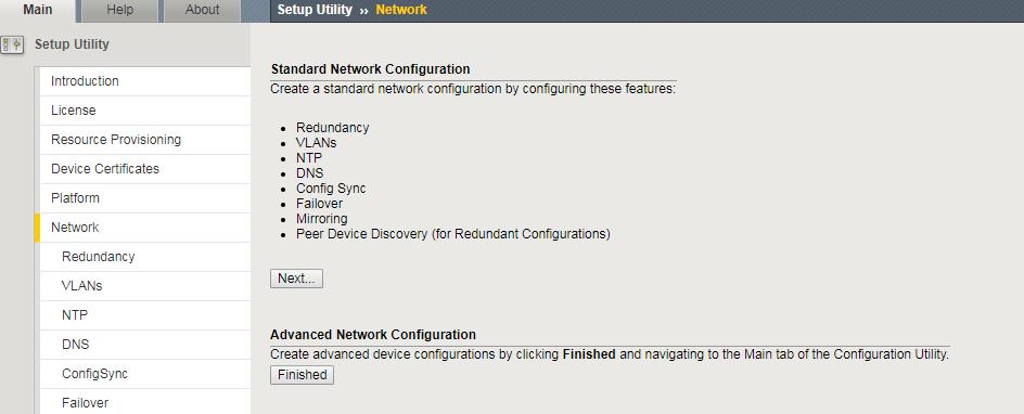 F5 BIG-IP LTM Initial Configuration