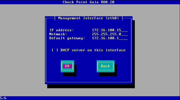 Management Interface (eth0)