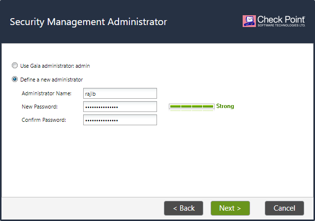 Security Management Administrator