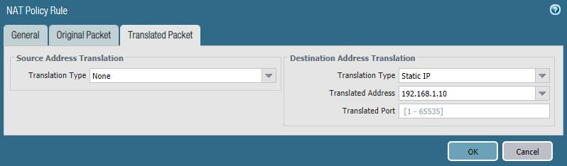 Destination NAT