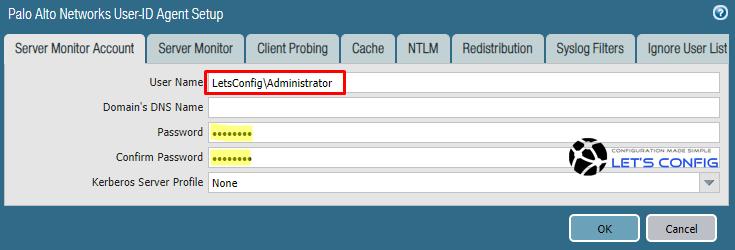 Palo Alto Networks User-ID Agent Setup
